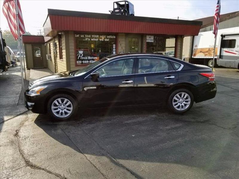 2014 nissan altima 25 s 4dr sedan in hudsonville mi prince motors vehicle options sciox Gallery