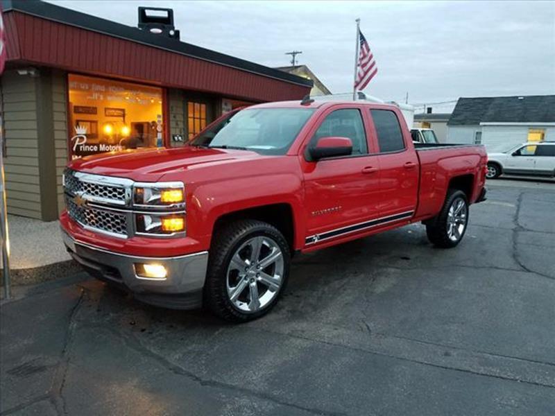 Chevrolet Used Cars Pickup Trucks For Sale Hudsonville PRINCE MOTORS