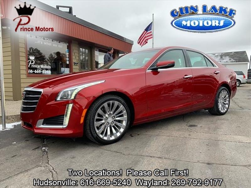 2016 Cadillac Cts 2 0t Luxury Collection In Hudsonville Mi Prince