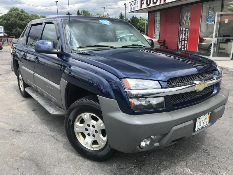 2002 Chevrolet Avalanche 4dr 1500 Crew Cab SB 2WD - Youngstown OH