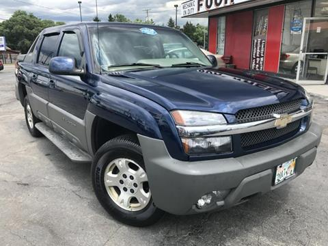 2002 Chevrolet Avalanche for sale in Youngstown, OH