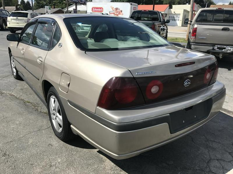 2002 Chevrolet Impala 4dr Sedan - Youngstown OH