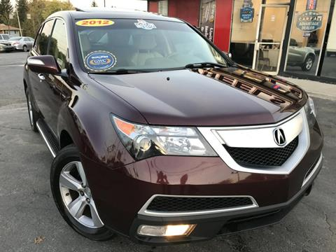 2012 Acura MDX for sale in Youngstown, OH