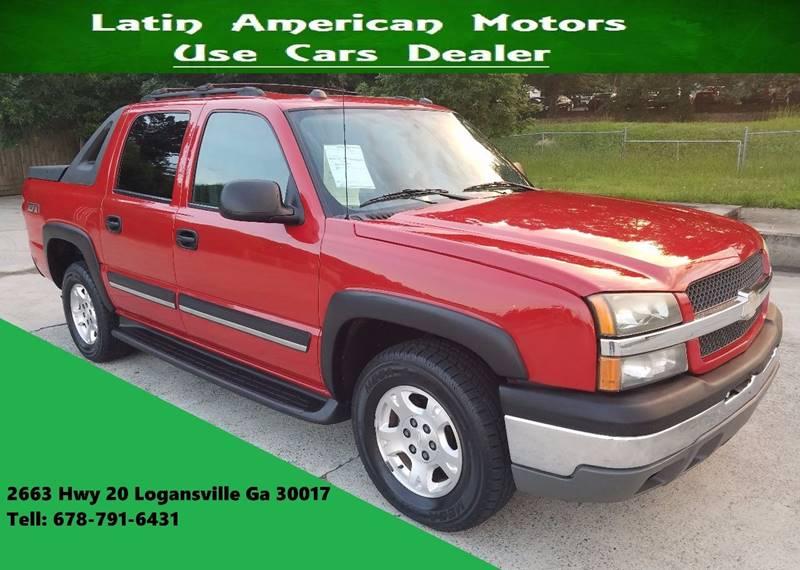 2004 Chevrolet Avalanche for sale at LATIN AMERICAN MOTORS in Grayson GA