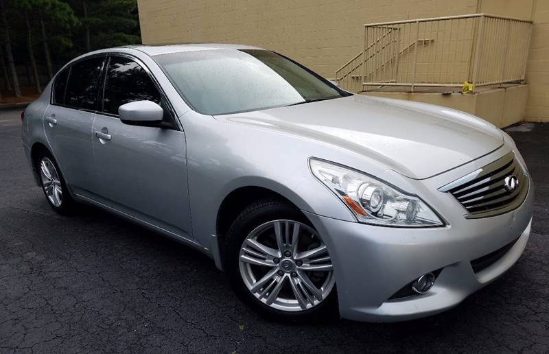 2011 Infiniti G25 Sedan for sale at LATIN AMERICAN MOTORS in Grayson GA