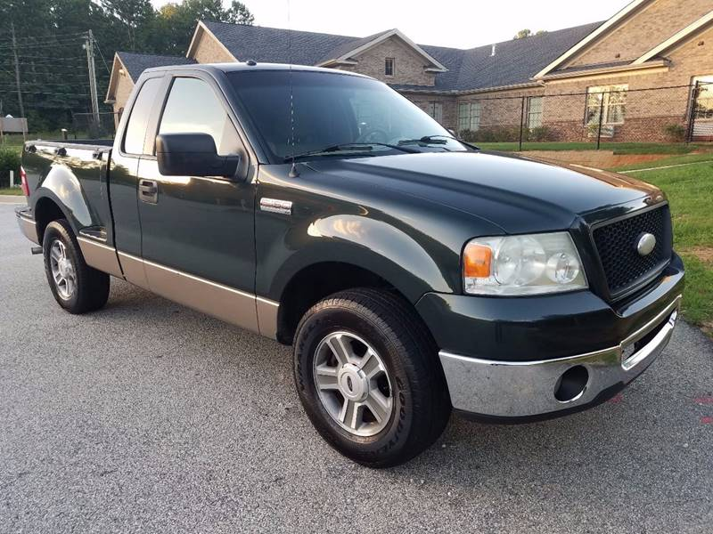 2006 Ford F-150 for sale at LATIN AMERICAN MOTORS in Grayson GA