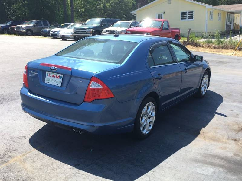 2010 Ford Fusion for sale at LATIN AMERICAN MOTORS in Grayson GA