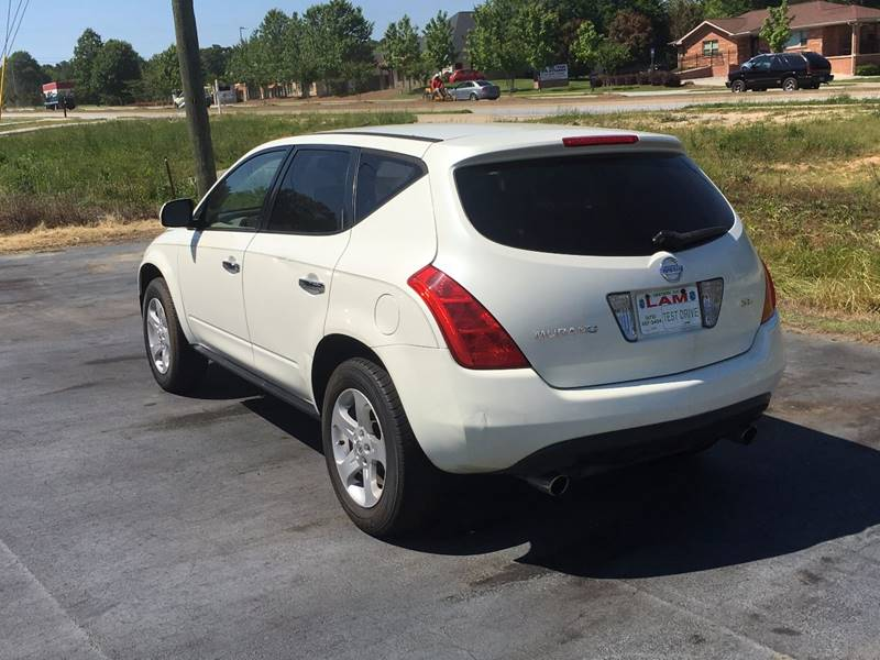 2004 Nissan Murano for sale at LATIN AMERICAN MOTORS in Grayson GA