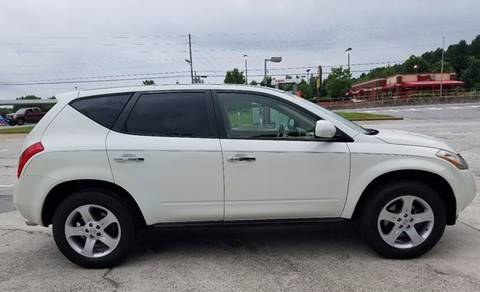 2004 Nissan Murano for sale at LATIN AMERICAN MOTORS in Grayson GA