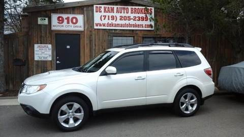 2009 Subaru Forester for sale at De Kam Auto Brokers in Colorado Springs CO