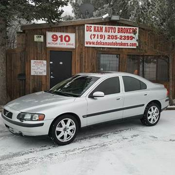 2004 Volvo S60 for sale at De Kam Auto Brokers in Colorado Springs CO