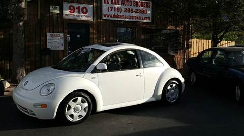 2000 Volkswagen New Beetle for sale at De Kam Auto Brokers in Colorado Springs CO