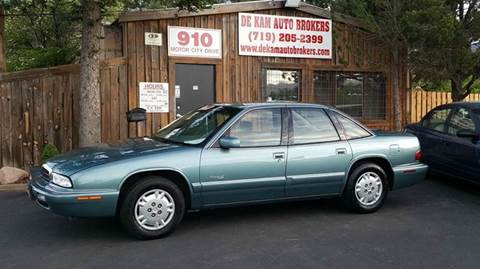 1996 Buick Regal for sale at De Kam Auto Brokers in Colorado Springs CO