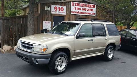 2000 Ford Explorer for sale at De Kam Auto Brokers in Colorado Springs CO
