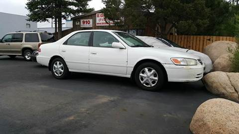 2001 Toyota Camry for sale at De Kam Auto Brokers in Colorado Springs CO
