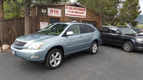 2005 Lexus RX 330 for sale at De Kam Auto Brokers in Colorado Springs CO