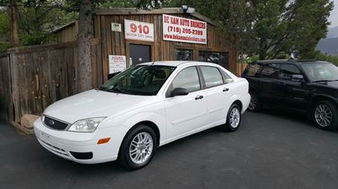 2005 Ford Focus for sale at De Kam Auto Brokers in Colorado Springs CO