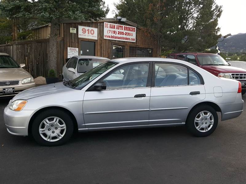 2001 Honda Civic LX 4dr Sedan   Colorado Springs CO