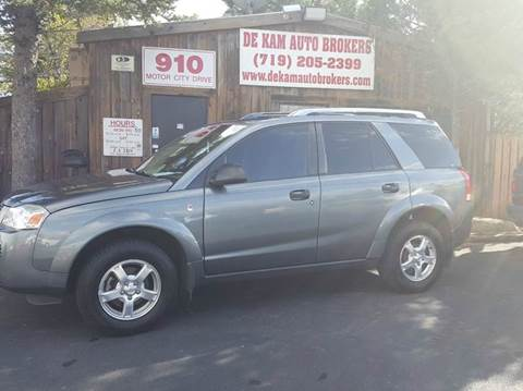 2006 Saturn Vue for sale at De Kam Auto Brokers in Colorado Springs CO