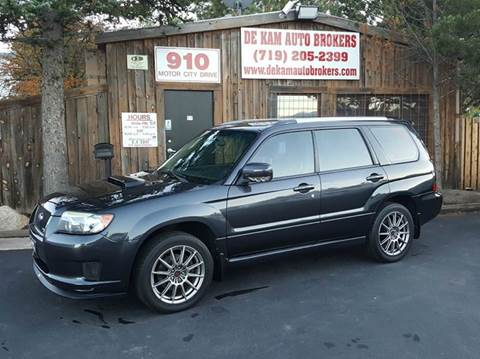 2008 Subaru Forester for sale at De Kam Auto Brokers in Colorado Springs CO