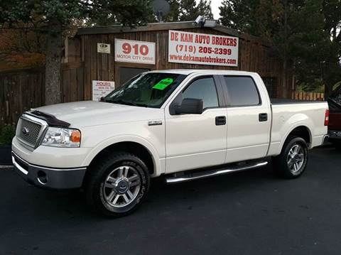 2007 Ford F-150 for sale at De Kam Auto Brokers in Colorado Springs CO