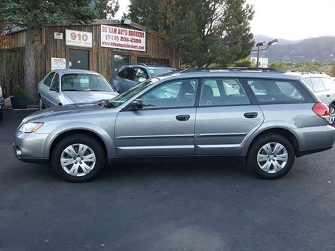 2009 Subaru Outback for sale at De Kam Auto Brokers in Colorado Springs CO