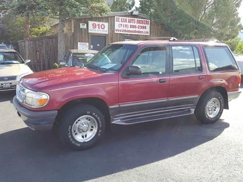 1996 Ford Explorer for sale at De Kam Auto Brokers in Colorado Springs CO