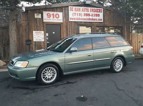 2004 Subaru Legacy for sale at De Kam Auto Brokers in Colorado Springs CO