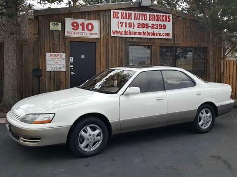 1995 Lexus ES 300 for sale at De Kam Auto Brokers in Colorado Springs CO