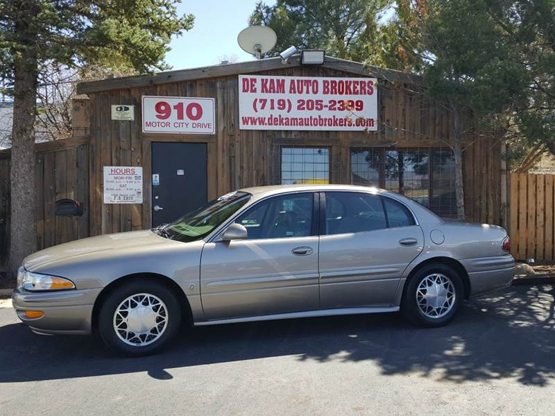 2003 Buick LeSabre for sale at De Kam Auto Brokers in Colorado Springs CO
