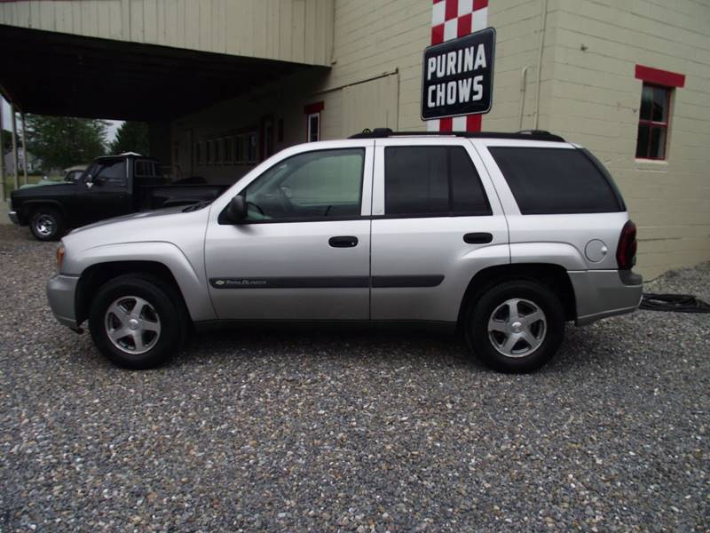 2004 Chevrolet TrailBlazer for sale at Country Truck and Car Lot II - Regular Inventory in Richfield PA