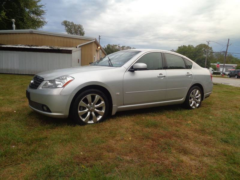 2006 Infiniti M35 Awd 4dr Sedan In Elgin Il Triangle Auto Sales