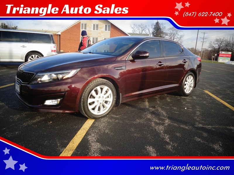 2015 Kia Optima EX 4dr Sedan In Elgin IL - Triangle Auto Sales