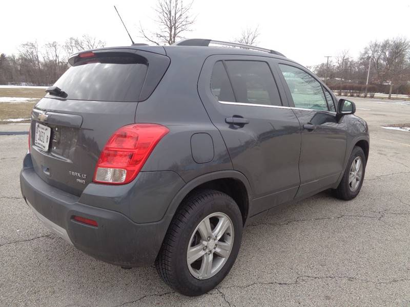 2016 Chevrolet Trax AWD LT 4dr Crossover In Elgin IL ...