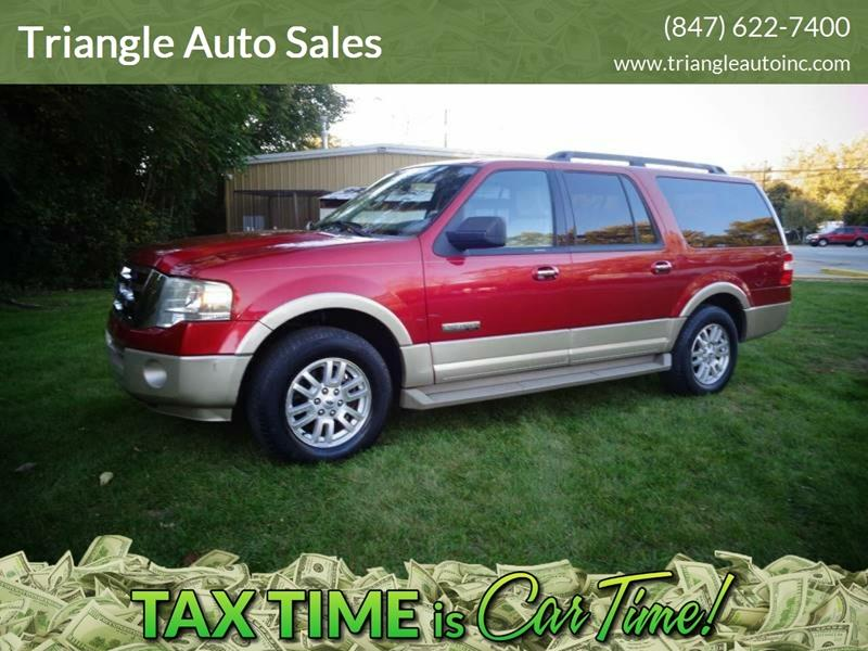 2008 Ford Expedition El 4x2 Eddie Bauer 4dr Suv In Elgin