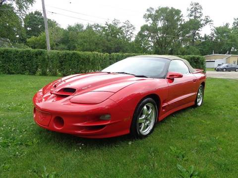 2002 Pontiac Firebird for sale in Elgin, IL