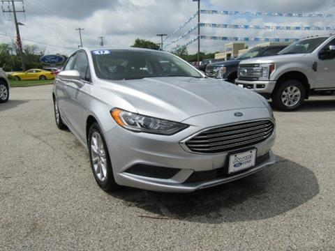 2017 Ford Fusion for sale in Mukwonago, WI