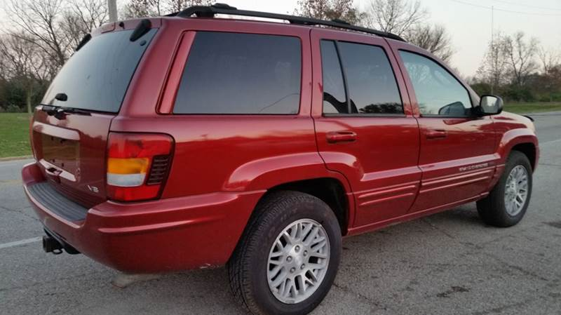 2004 Jeep Grand Cherokee Limited 4WD 4dr SUV In Miamisburg