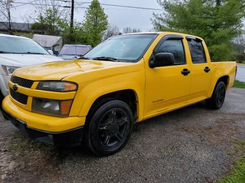 2004 Chevrolet Colorado for sale at Superior Auto Sales in Miamisburg OH