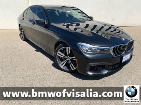 2017 BMW 7 Series 740i for sale at BMW OF VISALIA in Visalia CA
