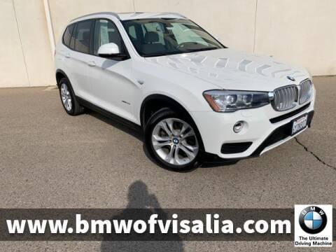 2015 BMW X3 xDrive35i for sale at BMW OF VISALIA in Visalia CA