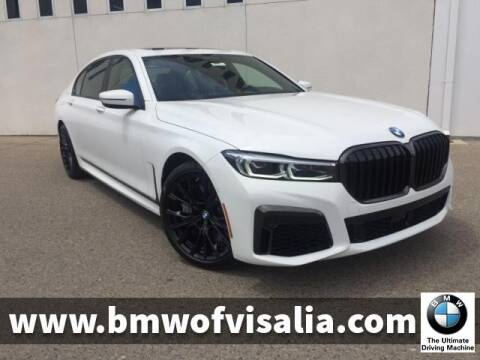 2020 BMW 7 Series 750i xDrive for sale at BMW OF VISALIA in Visalia CA