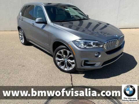 2017 BMW X5 xDrive35i for sale at BMW OF VISALIA in Visalia CA