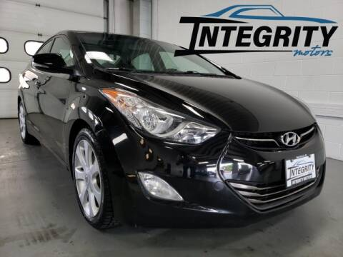2013 Hyundai Elantra for sale at Integrity Motors, Inc. in Fond Du Lac WI