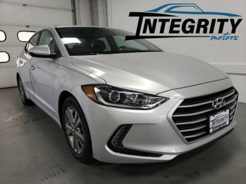 2017 Hyundai Elantra for sale at Integrity Motors, Inc. in Fond Du Lac WI