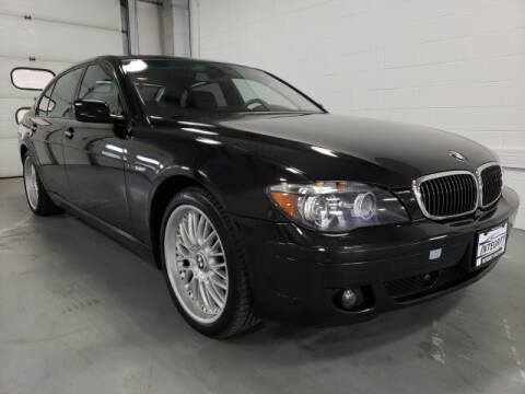 2007 BMW 7 Series for sale at Integrity Motors, Inc. in Fond Du Lac WI