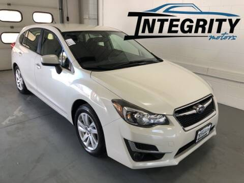 2015 Subaru Impreza for sale at Integrity Motors, Inc. in Fond Du Lac WI