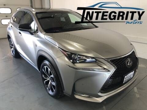 2016 Lexus NX 200t for sale at Integrity Motors, Inc. in Fond Du Lac WI