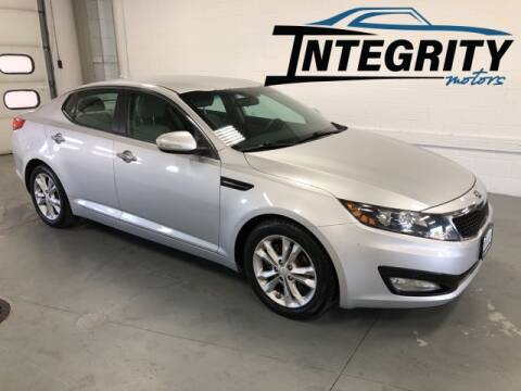 2013 Kia Optima for sale at Integrity Motors, Inc. in Fond Du Lac WI