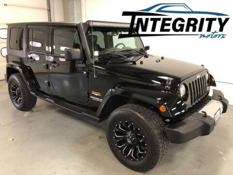 2010 Jeep Wrangler Unlimited for sale at Integrity Motors, Inc. in Fond Du Lac WI
